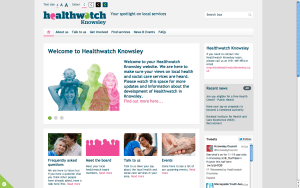 new Healthwatch design