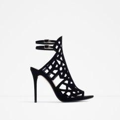 laser cut statement heels