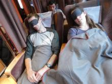 Sleeper train from Trondheim to Bodø