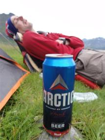Exhausted in the Arctic
