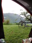 Camping, Lustrafjorden