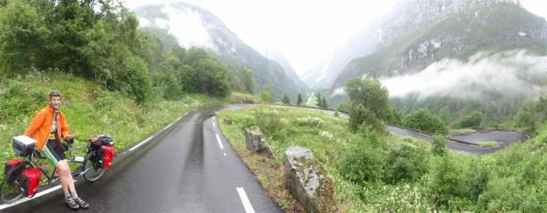 The steepest road in Norway, Stalheimskleiva