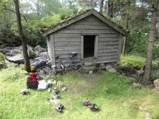 Camping near Gudvangen
