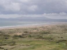 Views from harlech to The Llyn Peninsula
