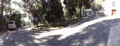 The wrong road up Vesuvius