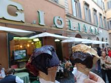 The finest Gelati inRome