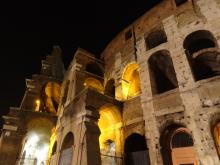 Colosseum by night, Rome