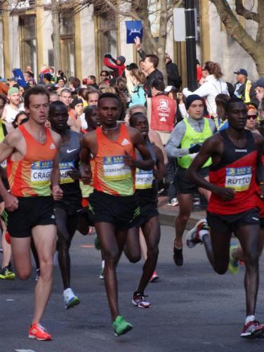 5km race, Boston