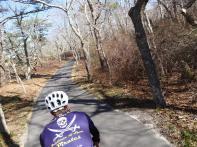 Bike path, Marthas Vineyard