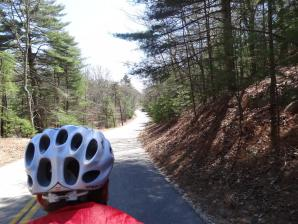 Woodland Road into Conneticut
