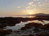 Sunset at Luskentyre, Harris