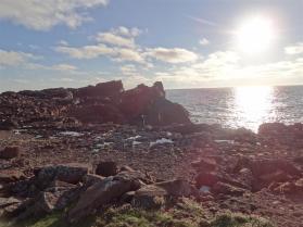 Volcanic coastline, Eshaness, Shetland