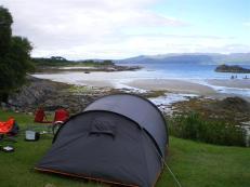 Camping, North Ardnamurchan
