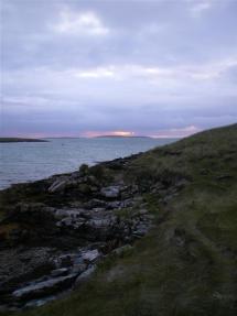 Sunset, North Uist
