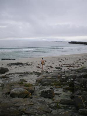 Swimming time, Barra