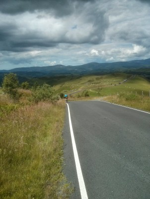 Downhill all the way to Machynlleth