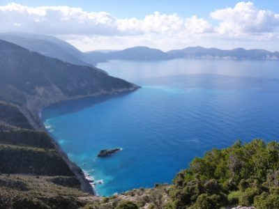 The coastline at Assos