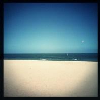 Half-full beach summer