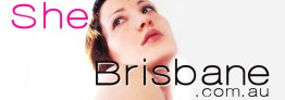 She Brisbane logo with dotcom