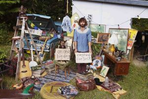 Angus Stone on the Garage Sale Trail