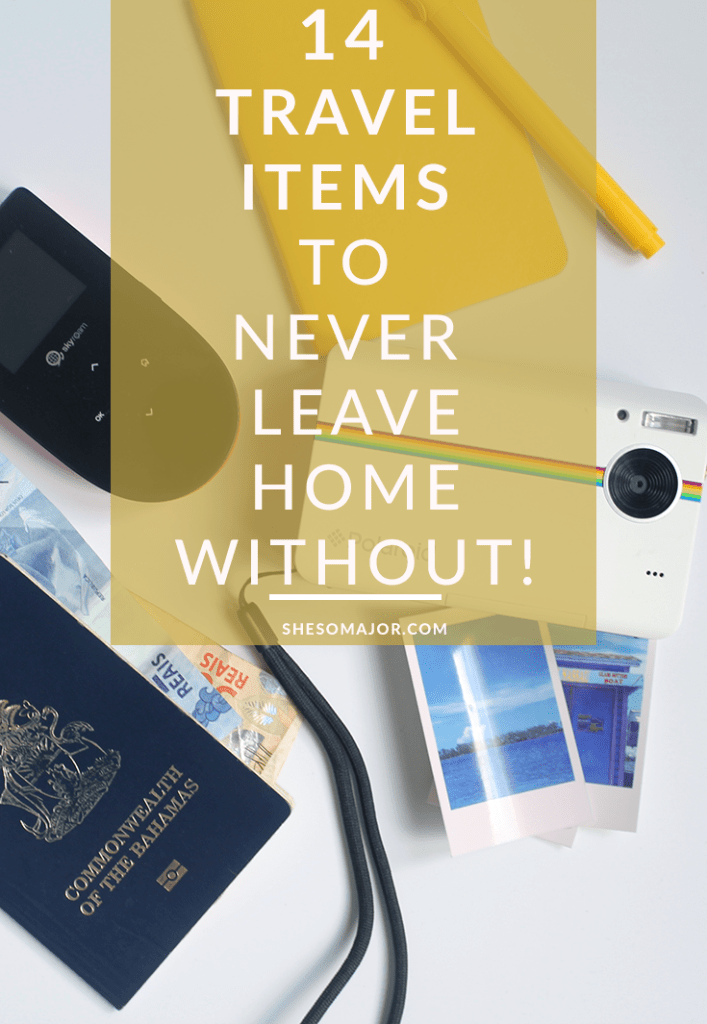 14 Travel Items To Never Leave Home Without