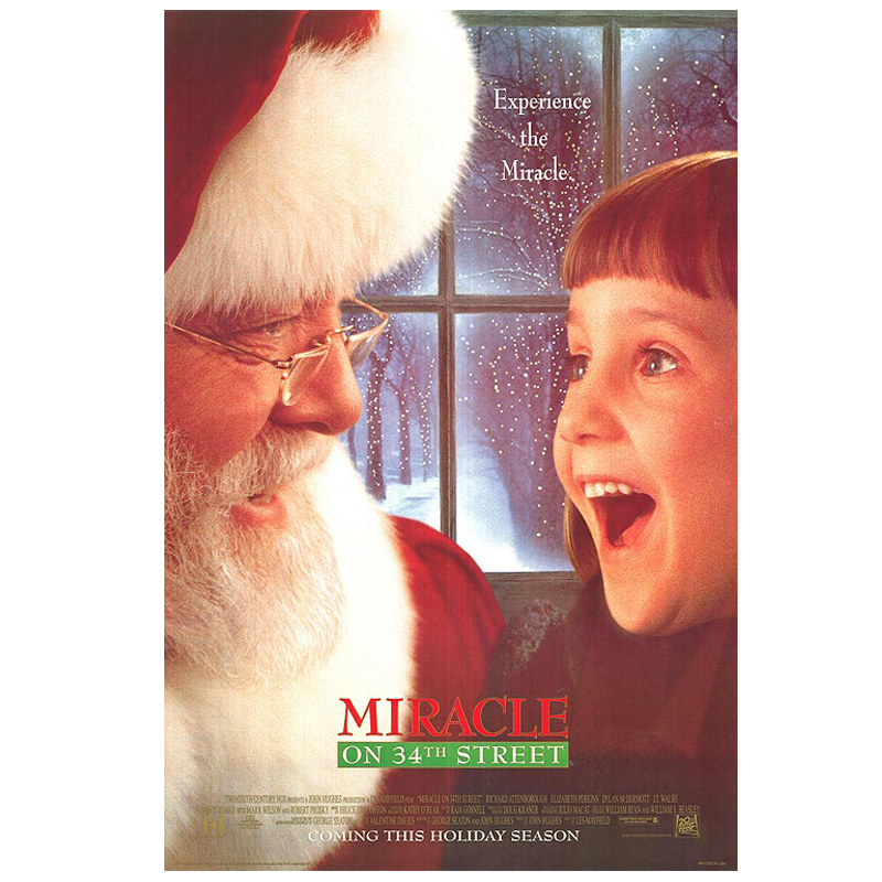 Miracle On 34th Street - Classic Christmas Movies | SHESOMAJOR