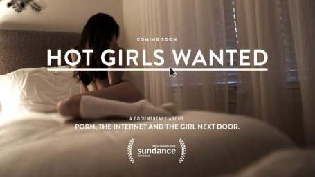 'Hot Girls Wanted' promotional poster