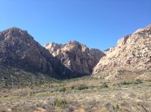 Entering Red Rock Canyon