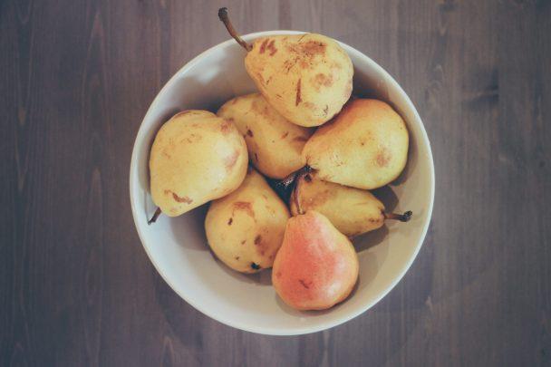 pear-bowl