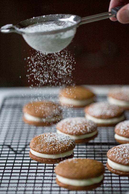 Easy Cookie Exchange Recipes: Gingerbread Whoopie Pies
