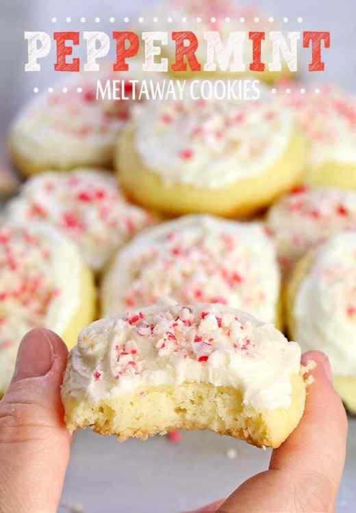 Easy Cookie Exchange Recipes: Peppermint Meltaway Cookies