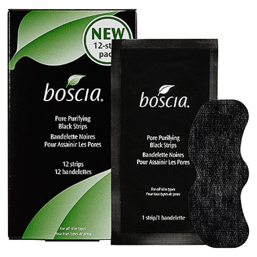 Best Pore Strips: Boscia Charcoal Pore Strips