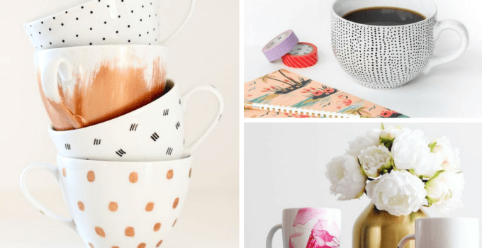 17 DIY Coffee Mugs with Must-Read Tips & Tricks