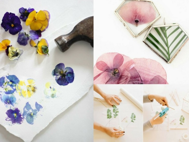 DIY Pressed Flower Art, Necklaces, and More
