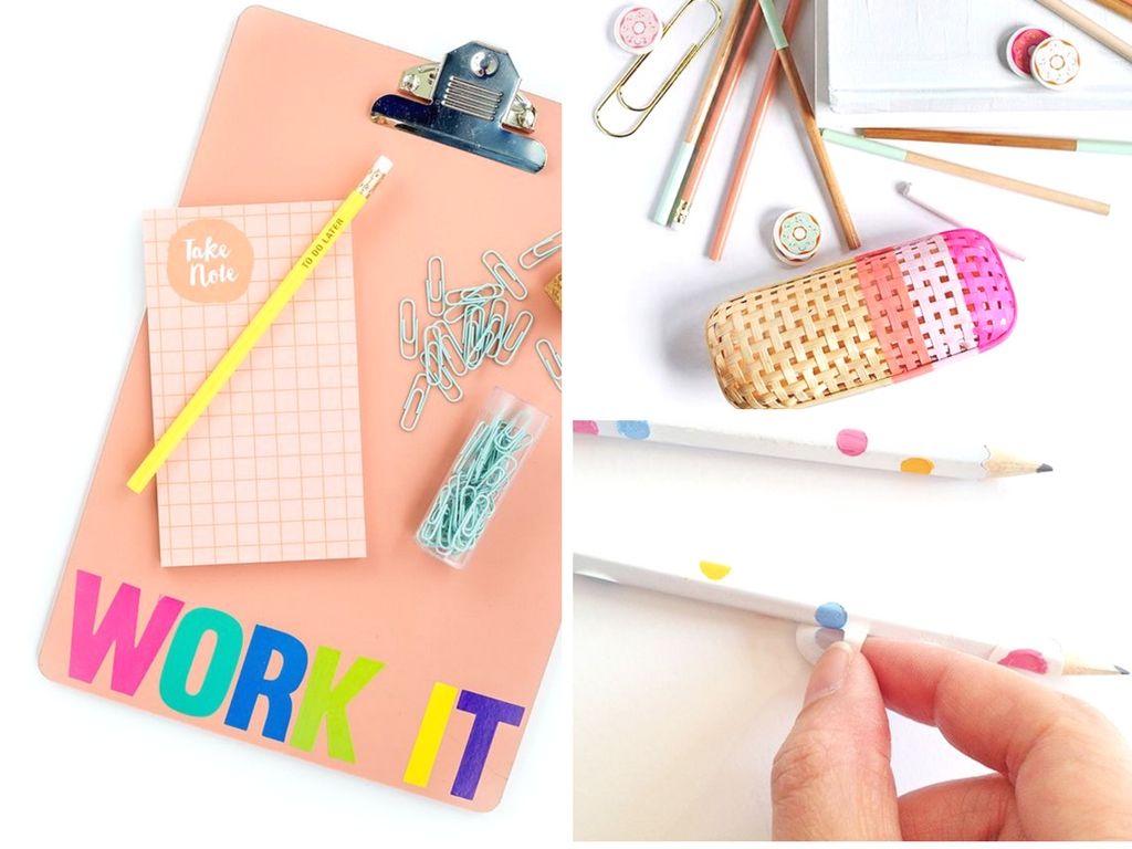 Diy School Part - 27: 17 Amazing DIY School Supplies Perfect For Back To School