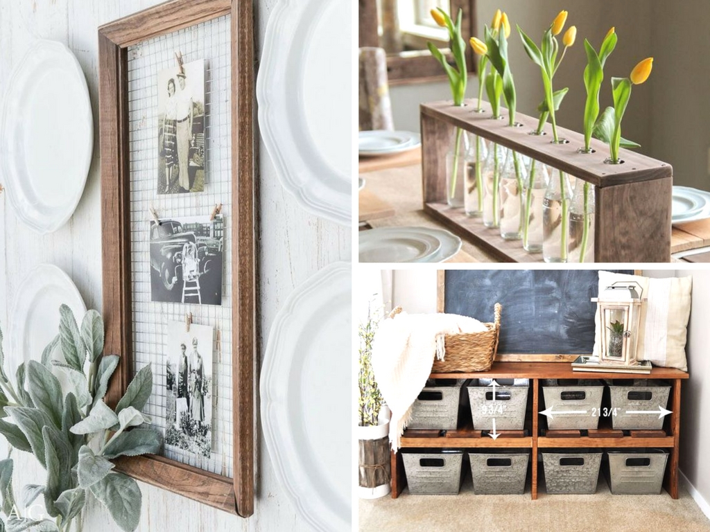 19 DIY Farmhouse Decor Ideas To Style Your Fixer Upper On