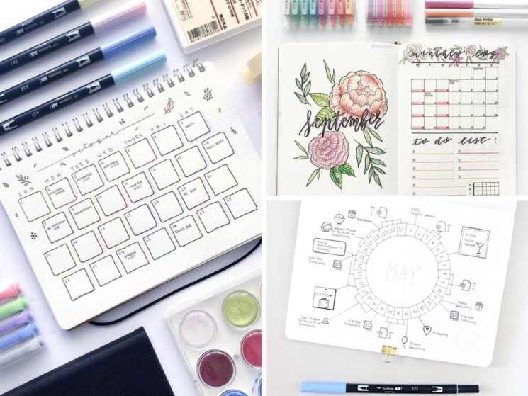 19 Bullet Journal Monthly Layout Ideas That Are Beyond Creative