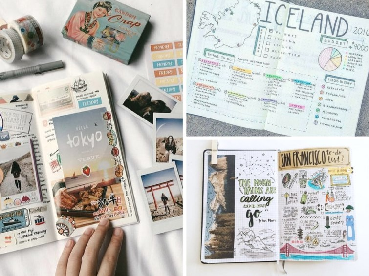 15 Creative Travel Bullet Journal Ideas for the Wanderlust