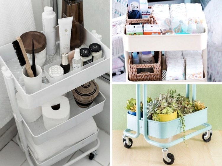 12 Reasons to Buy the $30 Ikea Raskog Cart