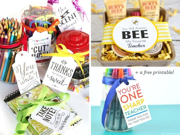 11 Teacher Appreciation Gift Ideas for the End of School