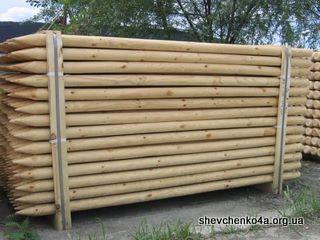 Деревянные столбики
