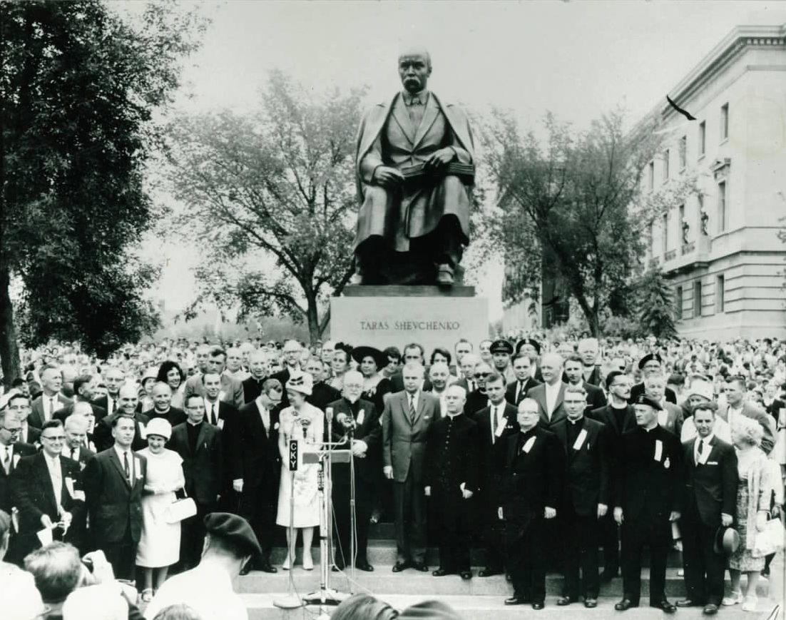 Shevchenko monument opening