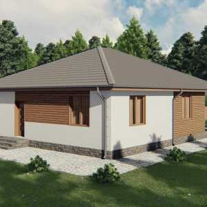 Строительство каркасного дома по проекту Висконсин K019