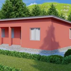 K030 — каркасный дом, проект Эдмонтон