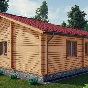Строительство деревянный дом из бруса сруб из дерева деревянный цена купить D015