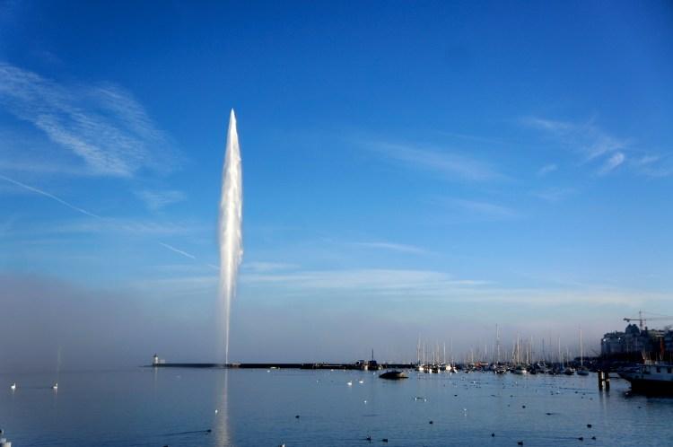 Geneva Waterfront - Jet d'Eau Fountain