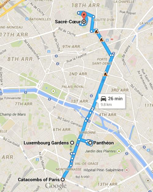 Paris Map 4