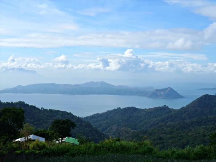 Taal Volcano from Tagaytay