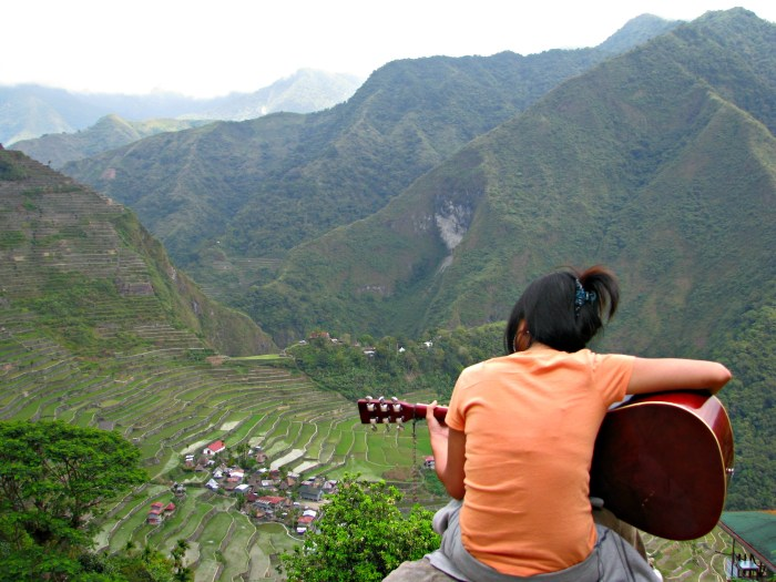 View of Batad & the Rice Terraces
