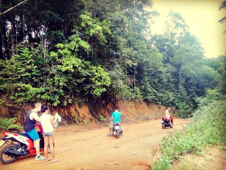 Getting Lost in Phangan